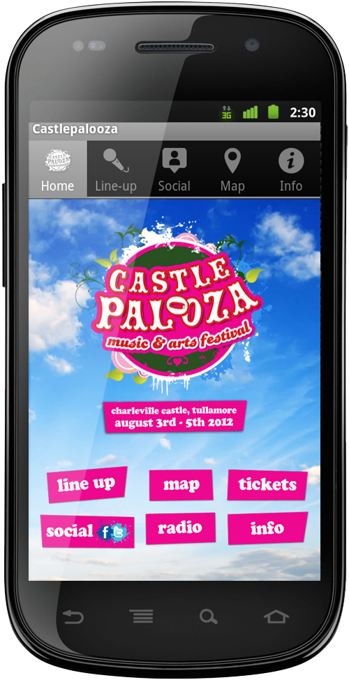 Castle Palooza Music & Arts Festival